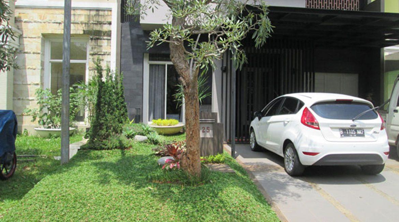 Pembuatan Taman di Perumahan Alam Sutera, Tangerang